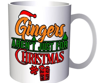 Gingers Aren'T Just Christmas 11oz Mug r626