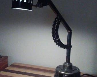 Hand Made Metal Art Desk Lamp