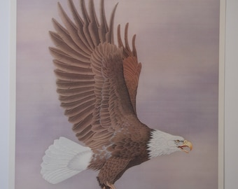 Flying eagle
