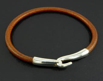 Bracelet, Hook Sterling silver - sailor & boat