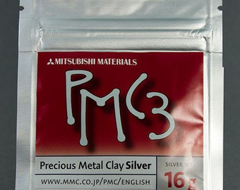 PMC3 - Precious Metal Clay 3 (16g pkg)  (PMC3-16)