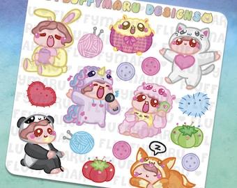 Onesie Deco Sticker Set    Planner Stickers, Cute Stickers for Erin Condren (ECLP), Filofax, Kikki K, Etc.    DS16