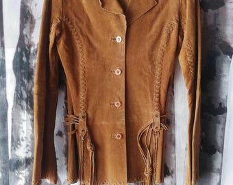 Frontier Suede Jacket