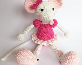 Amigurumi Ballerina Mouse (based on Lilleliis pattern)