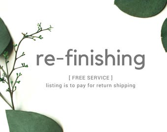 Return Shipping on Free Refinishing