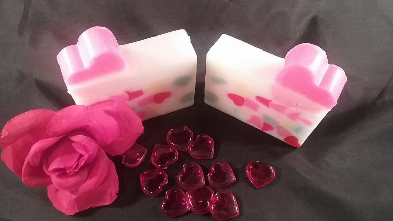 Heart Soap, Goat Milk Soap, Handmade, Bath and Beauty, Bar Soap ...