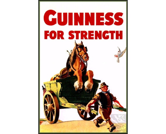 Guinness For Strength Horse