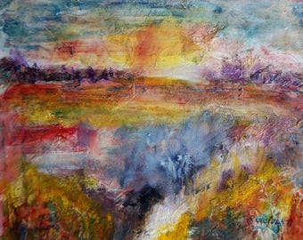 abstract landscape painting abstract landscape painting canvas