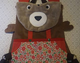 Customizable bear backpack to order