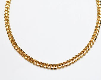 Champagne 16K Gold Plated Choker - Gold Necklace - Gold Chain Choker - Gold Chain Necklace - Gold Choker