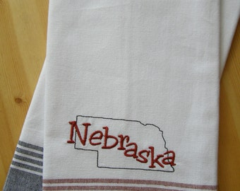 State of Nebraska Kitchen Towel