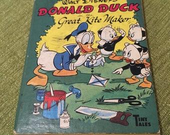 Walt Disney's Donald Duck in the Great Kite Maker - Tiny Tales - 1949