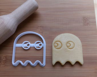 PAC Man Ghost Cookie Cutter / Biscuit Cutter 3D Printed