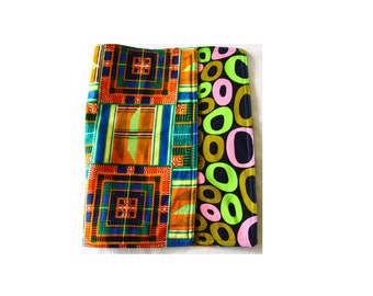Reversible placemats, African fabric placemats, Set of 2 or 4 placemats, African print placemats, Housewarming gift, Ankara table setting
