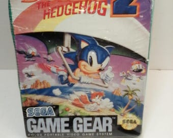 Sonic 2 Game for Sega Game Gear Handheld Video Game System New Sealed and Complete in Box