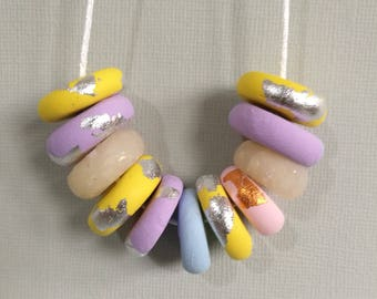 POLYMER CLAY NECKLACE, girls