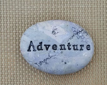 Adventure inspirations experience memento |the spirit of adventure planter and pots stone