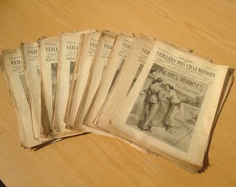 Old magazine Firesides cottages 106 numbers 46 year 1922 1923