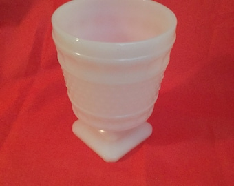 Napco milk glass vase 1180