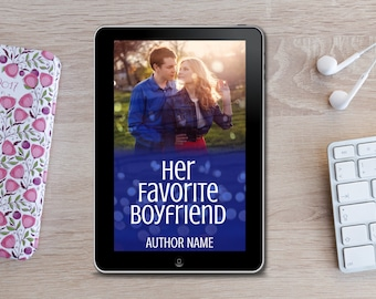 Premade eBook Cover -  Her Favorite Boyfriend