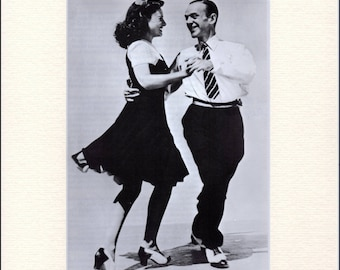 Fred Astaire in Second Chorus Book Print, mounted
