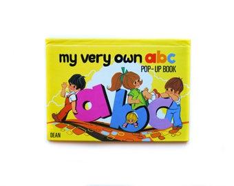 My Very Own ABC Pop Up | 1983 | Dean & Son | Vintage Children's Book