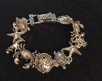 Sterling Silver Crazy About The Beach Bracelet
