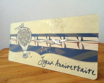 Fantasy is happy birthday handmade card