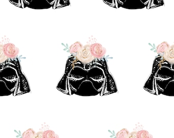 Star wars fabric, star wars prints, cotton fabric, knit fabric, jersey darth vader fabric, girl nursery fabric, licensed fabric, quilting