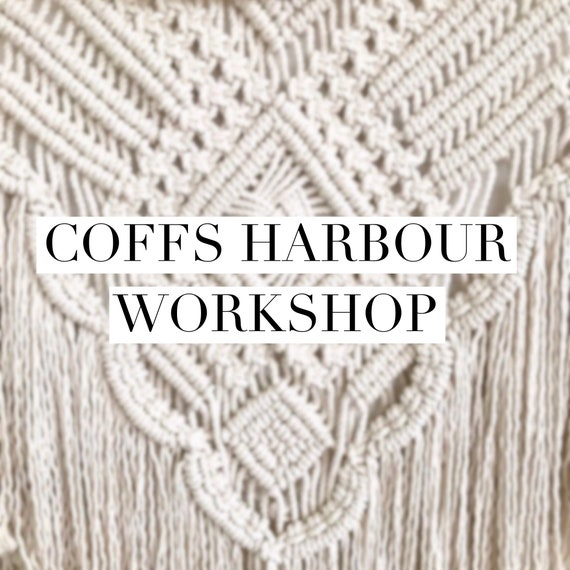 Coffs Harbour Wall Hanging Workshop  - Sat May 19th, 12:30pm