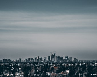 Edmonton - Winter Skyline