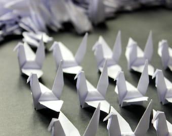 500 Pure White Origami Paper Cranes Crafts Paper Goods Wedding Pure Love 10x10cm Origami Crane
