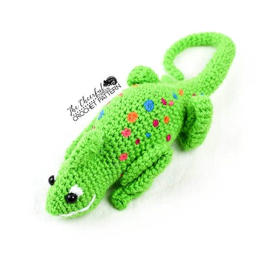 Chameleon Crochet Pattern Chameleon Amigurumi Lizard Crochet