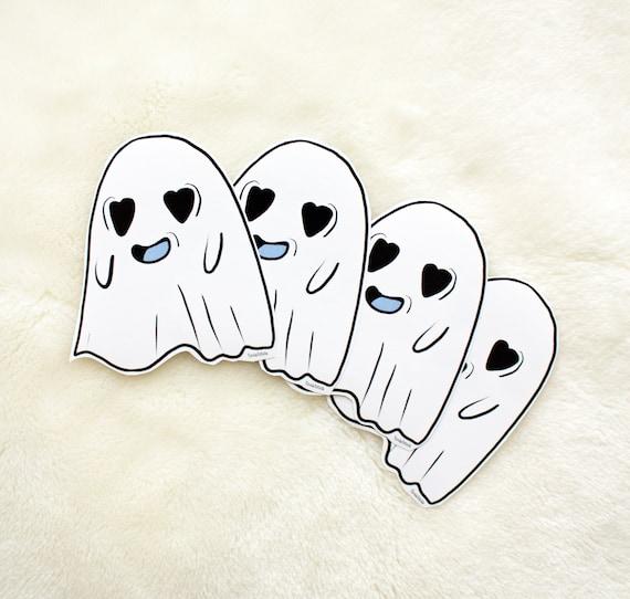 Ghosty love sticker