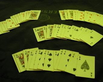 Vintage miniature Cards