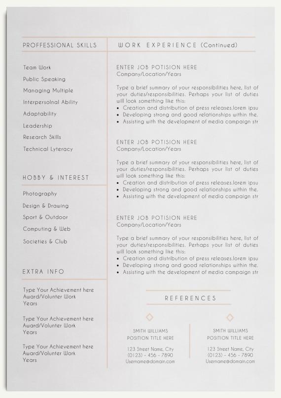 Großartig Vorlage Für Die Referenzseite Ideen - Entry Level Resume ...