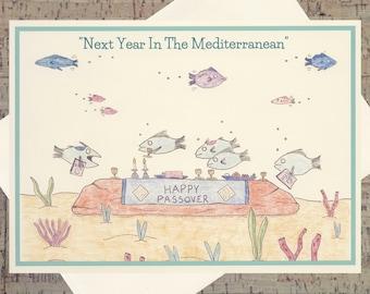 Judaica, Passover Card, Funny Jewish Holiday Card, Seder, Jewish Holiday Card, Jewish Card, Judaica Cards, Happy Passover