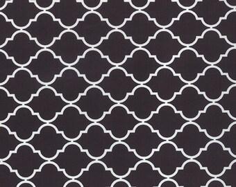 Quattro Black Geometric Fabric - Studio M - Moda - 32985 29