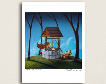 The Wishing Well - magic in the forest...again - Limited Edition Signed 8x10 Semi Gloss Print (3/10)