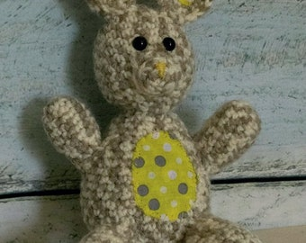 Marble the Bunny Crochet Amigurumi Pattern