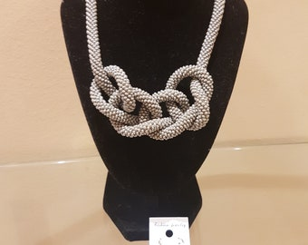 necklace - knots and earrings