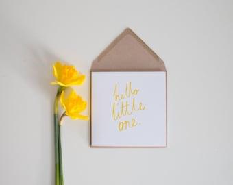 Hello Little One Card