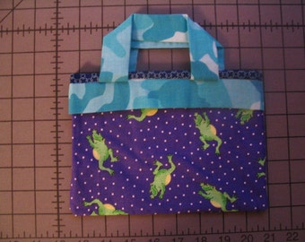Blue Froggy Mini Bag
