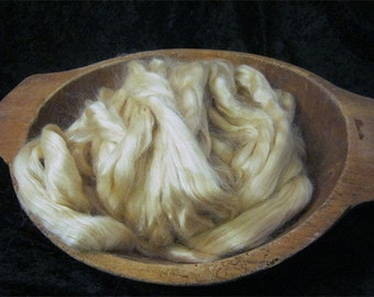 Golden Tussah Silk Roving - 2 Ounces