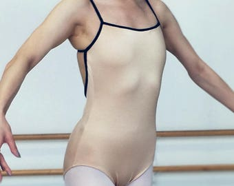 Yena Movable Strap Ballet Leotard - Small