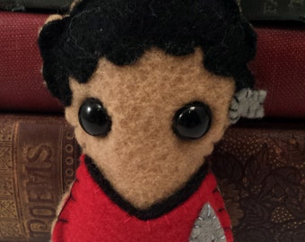 Nyota Uhura - Star Trek plushie (made to order)