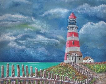 Path to Lighthouse (print)