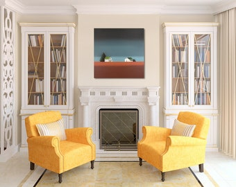 Large Painting - 30 x 30 Inches - Original Painting on Canvas - Nancy Jean Home