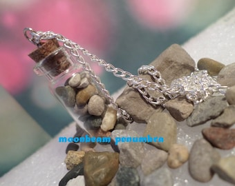 Bottle Charm With Stones