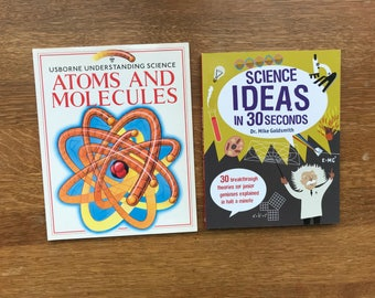 Collection of 2 Used Science Books